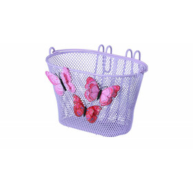 "Basil Jasmin Front Wheel Kids Basket 12""-20"" Kids purple"